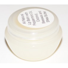 Lemongrass & Ginger Lip Balm (Jar)